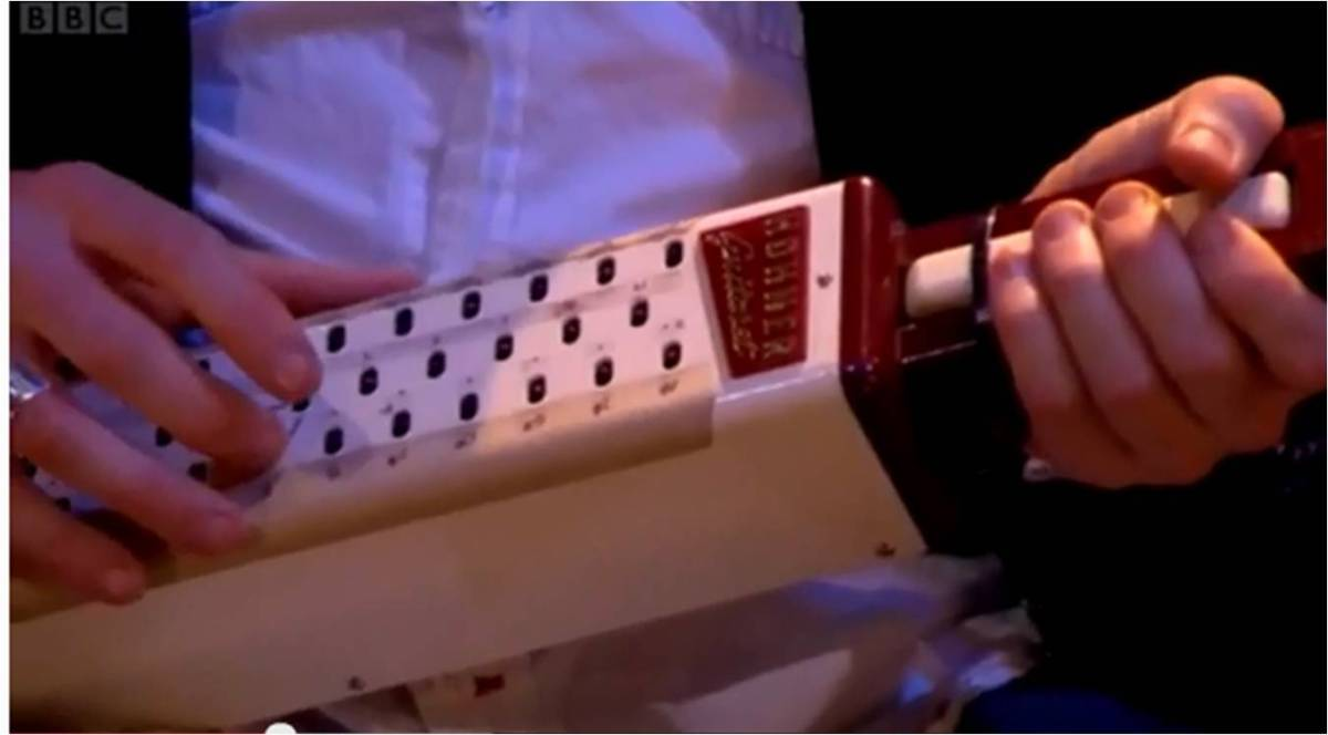 Can you identify this mysterious musical instrument?