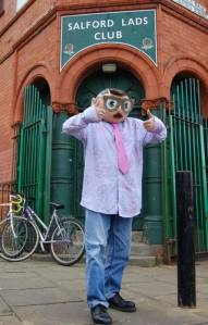 Frank Sidebottom as Morrissey