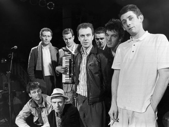 The Pogues in 1988
