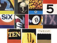 The Wedding Present's Hit Parade singles in graphicdetail