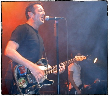 Joe Strummer London Astoria 1999 by Bob Gruen