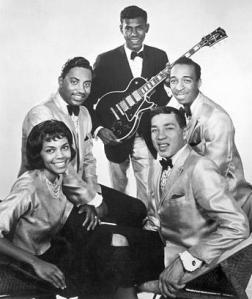 Smokey Robinson & Miracles including Marv Tarplin on guitar.