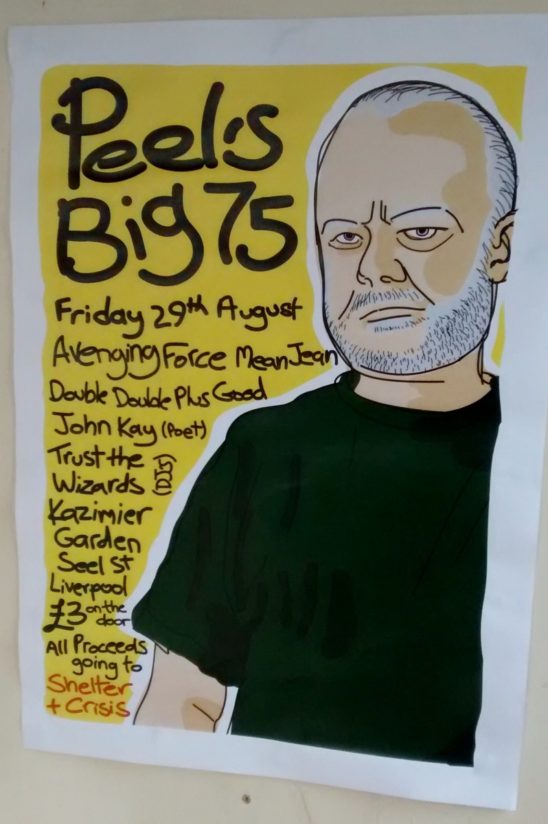 "Happy birthday John Peel: Our DJ set from ""Peel's Big 75"" at The Kazimier, Liverpool"