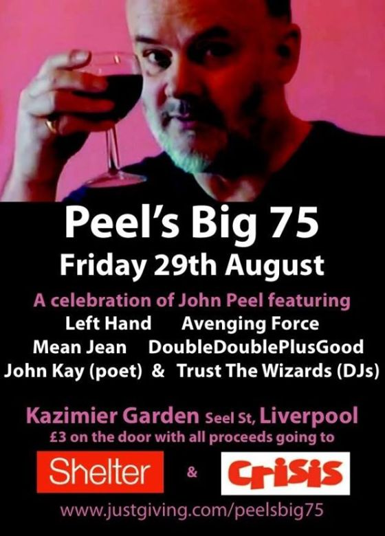 You might hear us play some more That Petrol Emotion when we're DJing at this. You will definitely hear us play a certain song from the O'Neill brothers' previous band!