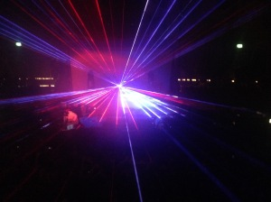 hit me with those laser beams