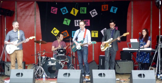 Bodyheat at Going Up The Country 13th June 2015