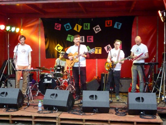 The Swapsies at Going Up The Country 13th June 2015