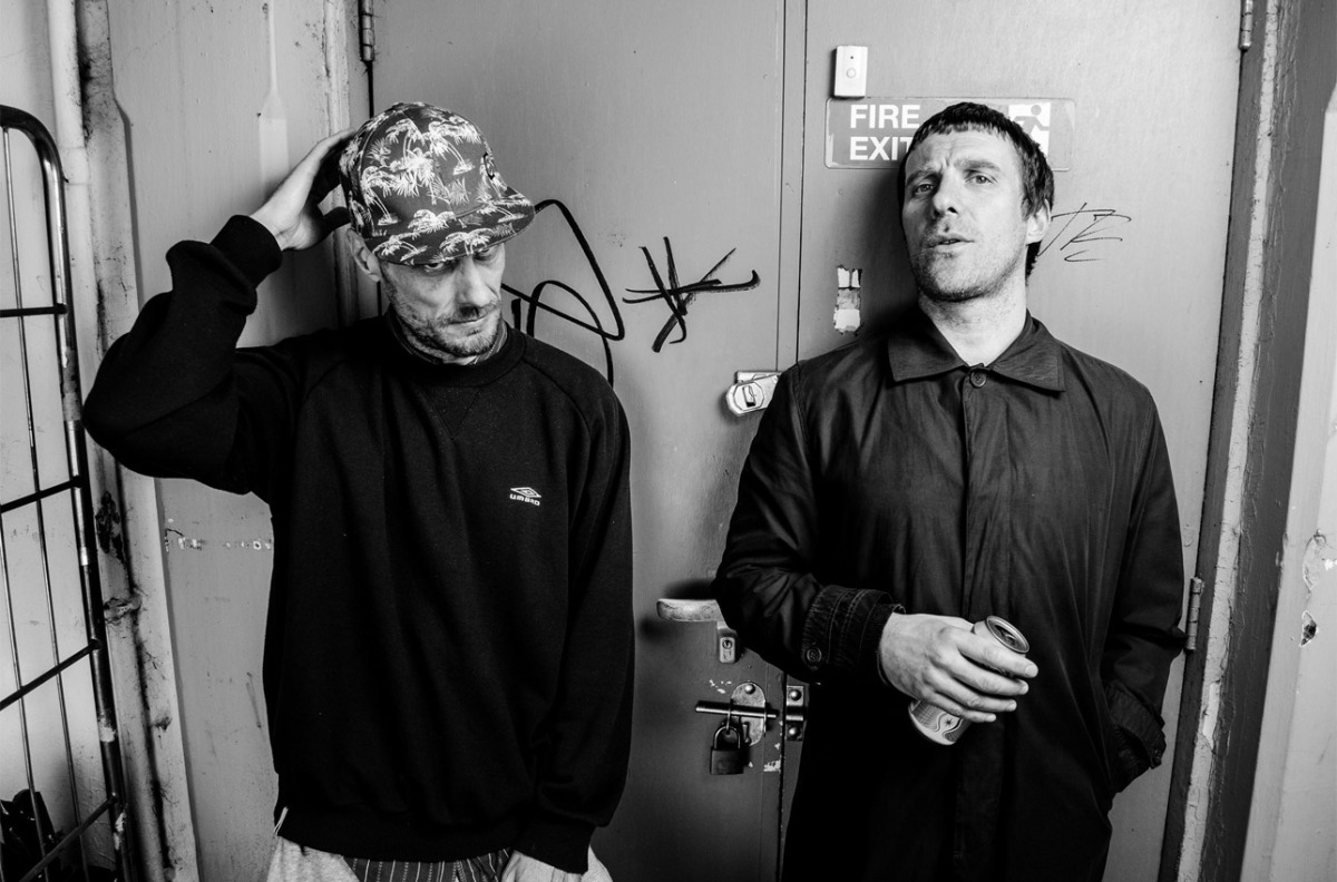 Sleaford Mods in graph form