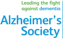 Click the logo for Alzheimers Society website