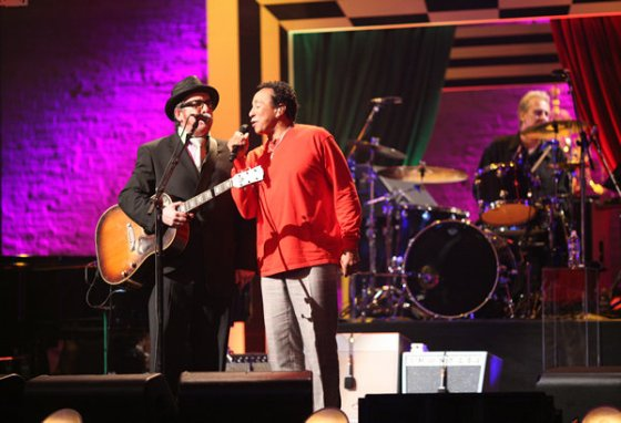 Elvis Costello Smokey Robinson Spectacle