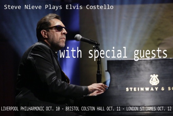 Steve Nieve UK Tour 2015