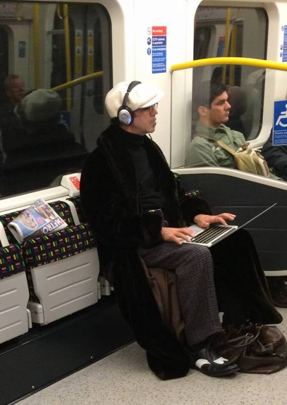 Kevin Rowland on the tube2