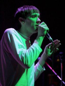 Meilyr Jones @ Studio 2 Parr Street Liverpool, 29th April 2016 by Robin Linton