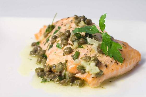 salmon-with-capers